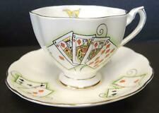 Queen Anne Cup & Saucer - Lady Luck