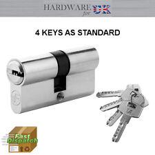 45 x 45 Euro Cylinder Security Anti Drill Barrel Lock Door Aluminium PVC Doors