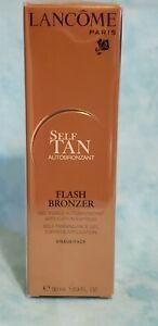 Lancome self tan flash bonzer for face new in box full size 1.69oz