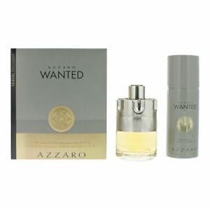 Azzaro Wanted 2 Piece Gift Set: EDT 100ml - Deodorant Spray 150ml Men