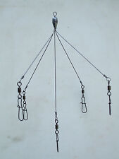 Saltwater Castable Alabama-Style Umbrella Rig for Blues, Bluefish & Stripers +