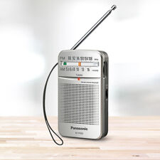 ***NEW*** PANASONIC RF-P50D Compact Pocket AM FM Radio - Silver