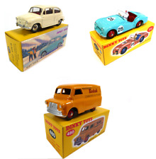 Set of 3 Dinky Toys Triumph + Bedford + Fiat - 1:43 Diecast Model Car