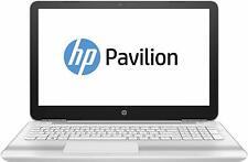 "HP 15-au181na Fast Laptop 1TB 8GB i5-7200U 15.6"" HD Windows 10 DVD Wifi White"