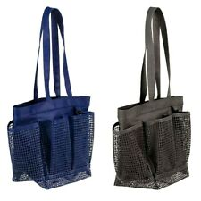 Mesh Shower Caddy Organizer Beach Bag Carryall Tote Choose Color Room Essential