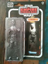 Black Series Blister Star Wars Han Solo Carbonite  40ème anniversaire ESB