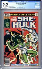 Savage She-Hulk #12 - CGC Graded 9.2 (NM-) 1981 - Bronze Age