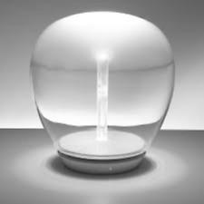 ARTEMIDE 1817010A EMPATIA 26 LED TAVOLO IN VETRO SOFFIATO 20W 3000°K 26CM