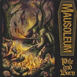 MAUSOLEUM / OFFAL SPLIT [7″ VINYL EP]