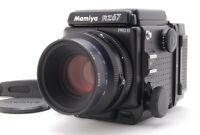 【MINT】 Mamiya RZ67 Pro II Camera + Z 110mm f2.8 W Lens + 120 Film Back II JAPAN