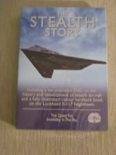 The Stealth Story (DVD, 2010) DVD and Hardback Color Book Set-Brand New