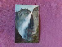 Vintage Postcard NATIONAL PARKS - YOSEMITE Upper Yosemite Falls