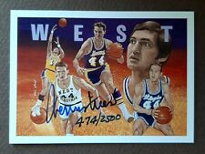 1991-92 Upper Deck Basketball Jerry West Autograph Heroes /2500 Lakers Auto