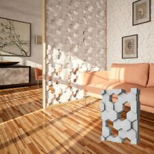 *HIVE* Set of 2pcs 3D Decorative Wall Block Panels. ABS Plastic mold for Plaster