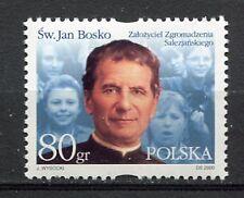 36049) POLAND 2000 MNH** S. John Bosco 1v. Scott# 3542