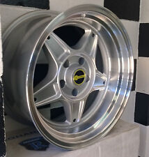 "17"" BLANK OS FORMULA STAR ALLOY WHEELS suit MOST OLD SCHOOL CARS,FORD, HOLDEN"