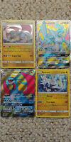 White Kyurem + Salamence GX SM139 SM141 4 Pokemon Promos from Dragon Majesty Box