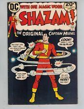 Shazam! #5  The Original Captain Marvel vs a Leprechaun from 1973   Nice F/VF!