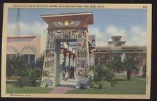 Postcard San Jose Ca Egyptian Shrine 1930's?