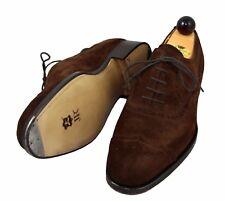 Vass shoes - Old English V-cap - Brown suede - 39.5 eu / 6.5 US / 5.5 UK