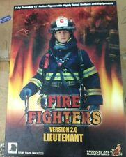 "HOT TOYS FIRE FIGHTER 2.0 LIEUTENANT 12"" NEW 1/6"