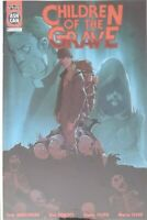 CHILDREN OF THE GRAVE 1 ASHCAN VARIANT - SCOUT COMICS - 1ST PRINT NM