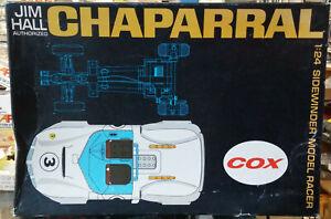 VINTAGE Cox 1/24 Jim Hall Chaparral Sidewinder Model Racer 14000:898