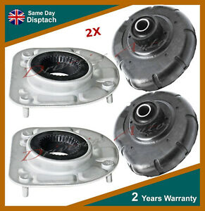 4x Front Top Strut Mounting+Bearing for Volvo S60 S80 V70 XC90 XC70 30683637
