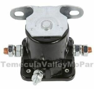 6 Volt Starter Solenoid for 1946-1955 Plymouth & Dodge