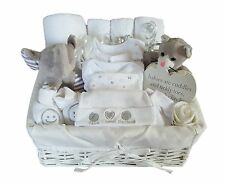 Baby Gift Basket Unisex.Baby Hamper. Baby Shower Gift Basket Neutral. Nappy Cake