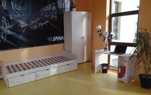 Jugendzimmer Kinderzimmer Komplett Jugendbett Schrank Schreibtisch Massivholz