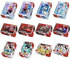 Puzzle Disney Anna & Elsa Cars Minnie Mickey Mouse 54 Teile Kinder Eiskönigin