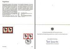 Ministerkarte Nr.24/1976 17.8.76 Vogelschutz, Regenpfeifer (mehrfach MiNr.901)