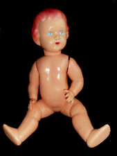 1960s USSR Russian Soviet CELLULOID LARGE Toy Doll GIRL
