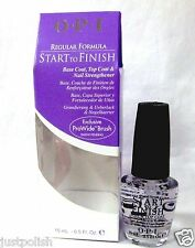 OPI Nail Treatment Start-To-Finish Base,Top,Strengthener Original .5oz/15ml