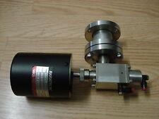 MKS BARATRON 127A 127AA-00001A 1 TORR PRESSURE TRANSDUCER w/ AIR VALVE