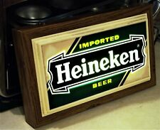 Vintage 1980s Electrical Heineken Imported Beer Sign