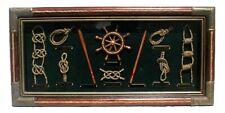 Vintage Nautical Knots Shadow Box