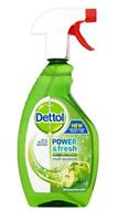 NEW Dettol Green Apple Antibacterial Disinfectant Multipurpose Cleaner Spray