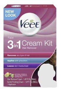 3 Pack - Veet 3-in-1  Hair Remover cream kit EXP 7/22, Finishing Cream EXP 8/21
