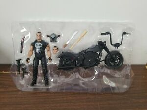 Marvel Legends Series 6-inch The Punisher with Motorcycle Loose