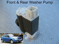 Front & Rear Windscreen Washer Pump Chevrolet Lacetti Hatchback 2005 to 2011