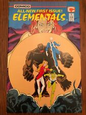 Elementals #1 (March 1989, Comico) 2nd series