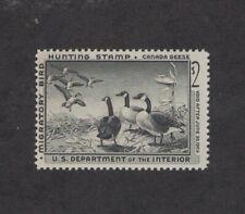 RW25 - Federal Duck Stamp. Single. MNH. OG.   #02 RW25