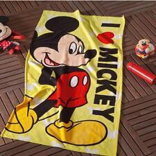 Kids&Teens Bath/Beach Towel %100 Cotton DISNEY MICKEY MOUSE LICENSED 59x29.5 inc