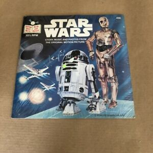 Star Wars Book And Record 33 RPM Story Music And Photos From The Original Movie