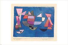 park near lu 1938 PAUL KLEE vintage painting ART POSTER geometry 24X36 RARE