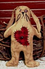 PATTERN ~ PRIMITIVE BUNNY RABBIT ORNIE/TUCK!  PERFECTLY PRIM!! QUICK EASY!!