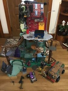 Teenage Mutant Ninja Turtles Secret Sewer Lair *1 Missing Not Important * +++