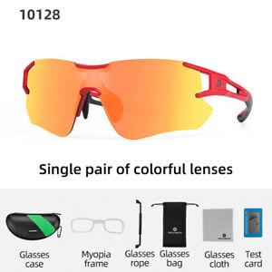 ROCKBROS Polarized Cycling Sunglasses Eyewear Outdoor Sports Bike Goggles Unisex